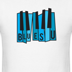 Blues U - Men's T-Shirt