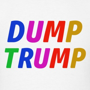 dump trump Design - Men's T-Shirt