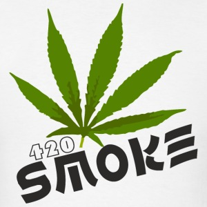 Smoke 420 - Men's T-Shirt
