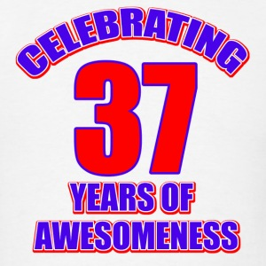 37th birthday design - Men's T-Shirt