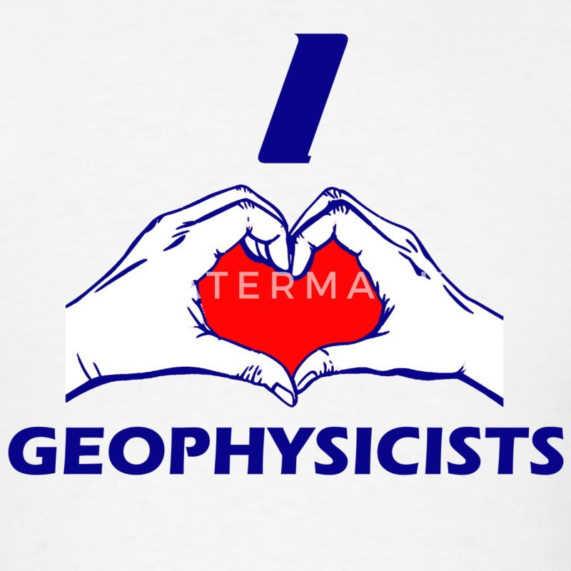 GEOPHYSICIST DESIGN - Men's T-Shirt