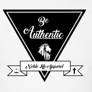 be authentic - Men's T-Shirt