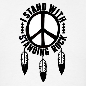 I_Stand_With_Standing_Rock - Men's T-Shirt