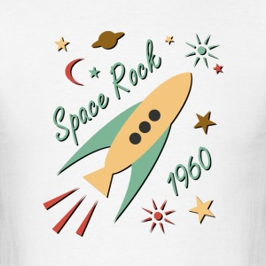 Space Rock 1960 - Men's T-Shirt