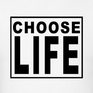 Choose Life - Wham! - Men's T-Shirt