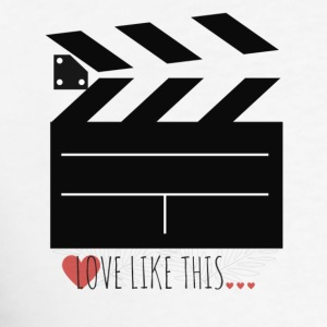 LOVE LIKE THIS - FILM - CINE - Men's T-Shirt
