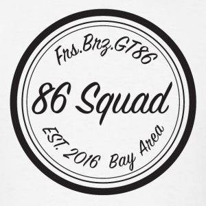 86 Squad Badge - Men's T-Shirt