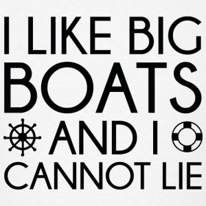 I Like Big Boats - Men's T-Shirt