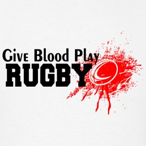 Rugby - Give Blood Play Rugby - Men's T-Shirt