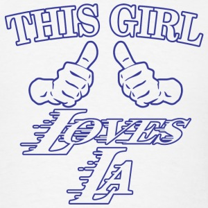 LA - this girl loves LA - Men's T-Shirt
