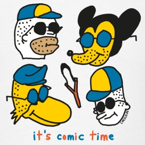 It's Comic Time by Cheslo - Men's T-Shirt