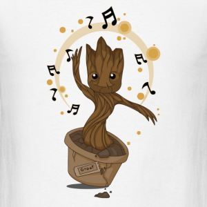Groovy Baby Groot - Men's T-Shirt