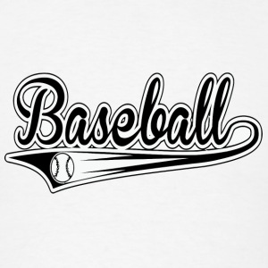 basseballl - Men's T-Shirt
