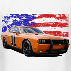 Dodge Challenger RT America Muscle Car Shirt - Men's T-Shirt