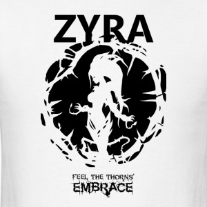 "Zyra ""Feel the thorns, Embrace"" - Men's T-Shirt"