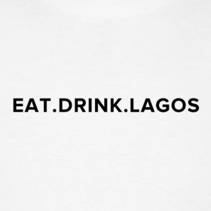 Eat.Drink.Lagos Logo Shirt - Men's T-Shirt