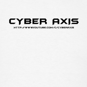 Simpe Cyber Axis Design. - Men's T-Shirt