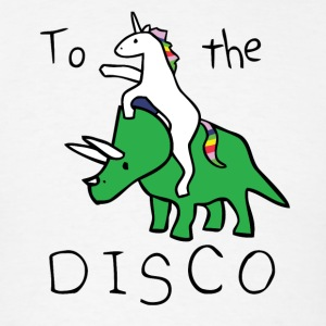 To The Disco vectorized - Men's T-Shirt