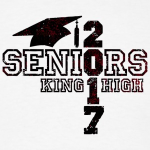 Seniors 2017 King High - Men's T-Shirt