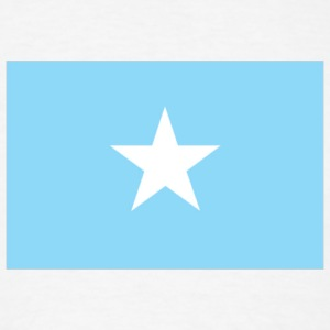 Somalia flag - Men's T-Shirt