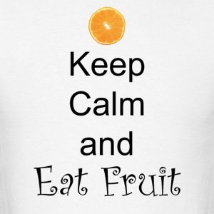 Keep-Calm-and-Eat-Fruit - Men's T-Shirt