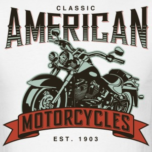 Classic American Motorcycles Established 1903 - Men's T-Shirt