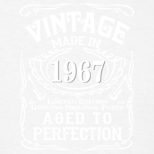 Vintage Made in 1967 Genuine Original Parts - Men's T-Shirt
