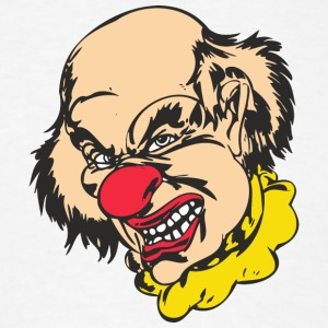 EVIL_CLOWN_23_colored - Men's T-Shirt