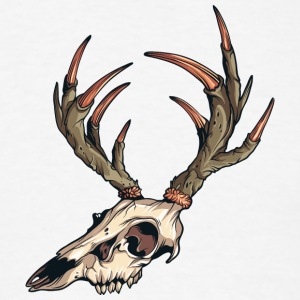deer_skull - Men's T-Shirt