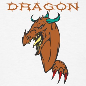 dragon_with_hand_color_ - Men's T-Shirt