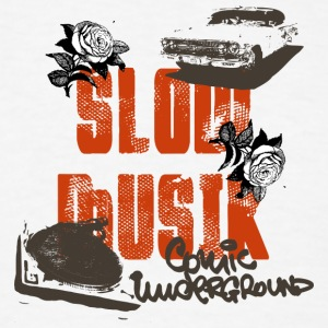 slow music - Men's T-Shirt