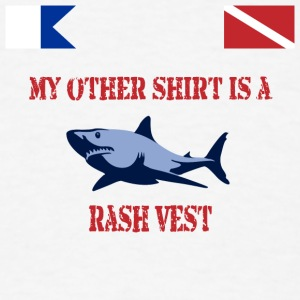 Scuba Rash Vest - Men's T-Shirt