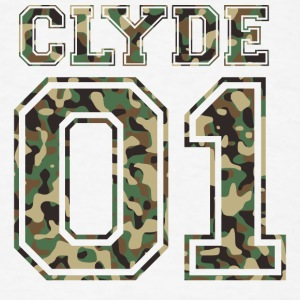 Clyde_01_camo_2 - Men's T-Shirt
