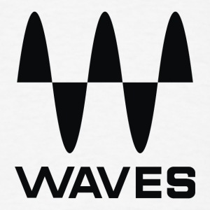 waves black - Men's T-Shirt