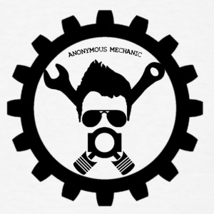 ANONYMOUS MECHANIC - Men's T-Shirt