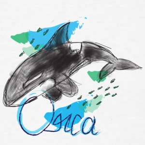 Orca / Killer Whale - Men's T-Shirt
