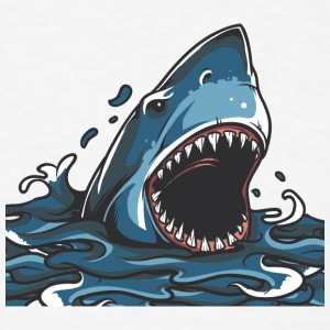 shark_in_ocean - Men's T-Shirt