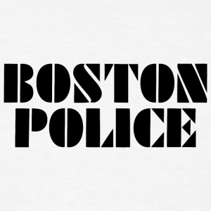 boston police - Men's T-Shirt
