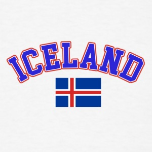 iceland design - Men's T-Shirt