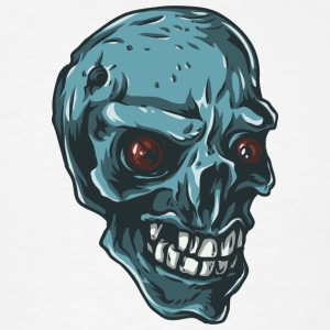 blue_skull - Men's T-Shirt