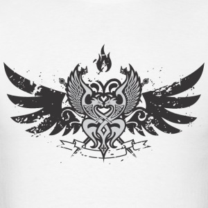 Wings emblem - Men's T-Shirt
