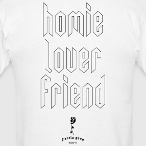 HOMIE LOVER FRIEND - Men's T-Shirt