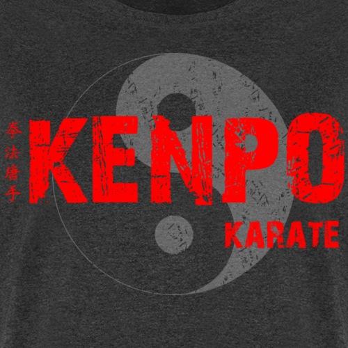 kenpo Yin Yang red - Men's T-Shirt