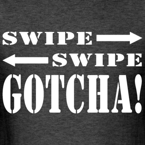 Dating Swipe Right | White - Men's T-Shirt