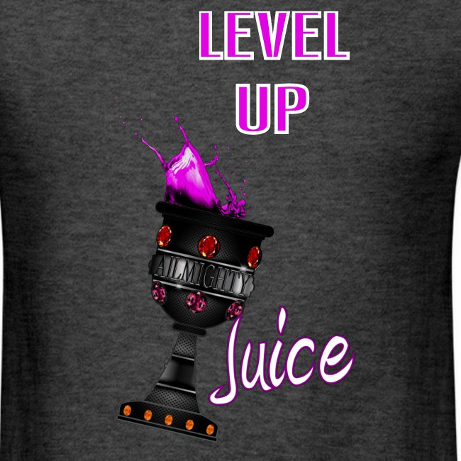 Juice Level Up text