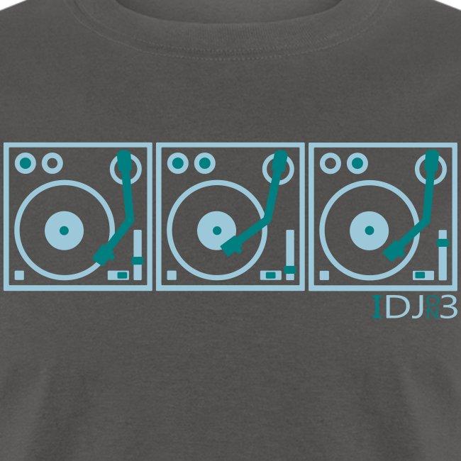 I DJ ON 3 Turntables Semipro DJ