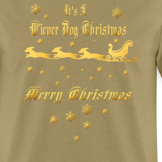 It's A Wiener Dog Christmas