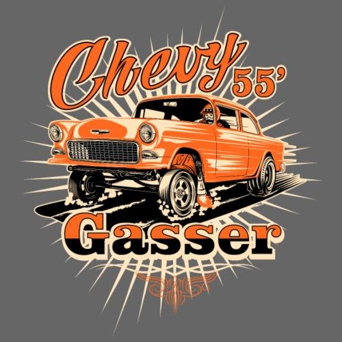 Head's Up '55 Chevy Gasser T-Shirt - Men's T-Shirt