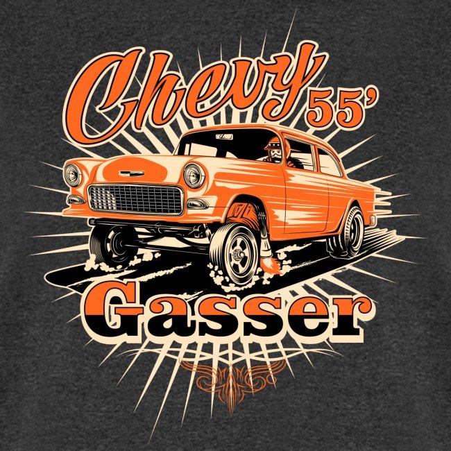 Head's Up '55 Chevy Gasser T-Shirt