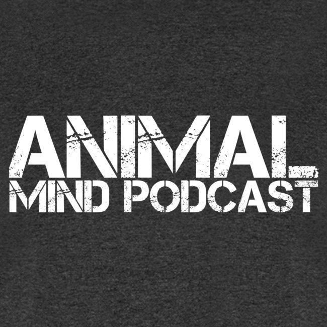 Animal Mind Podcast Stencil Logo